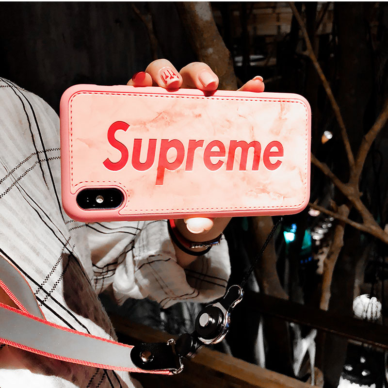 supreme iphone xsケース
