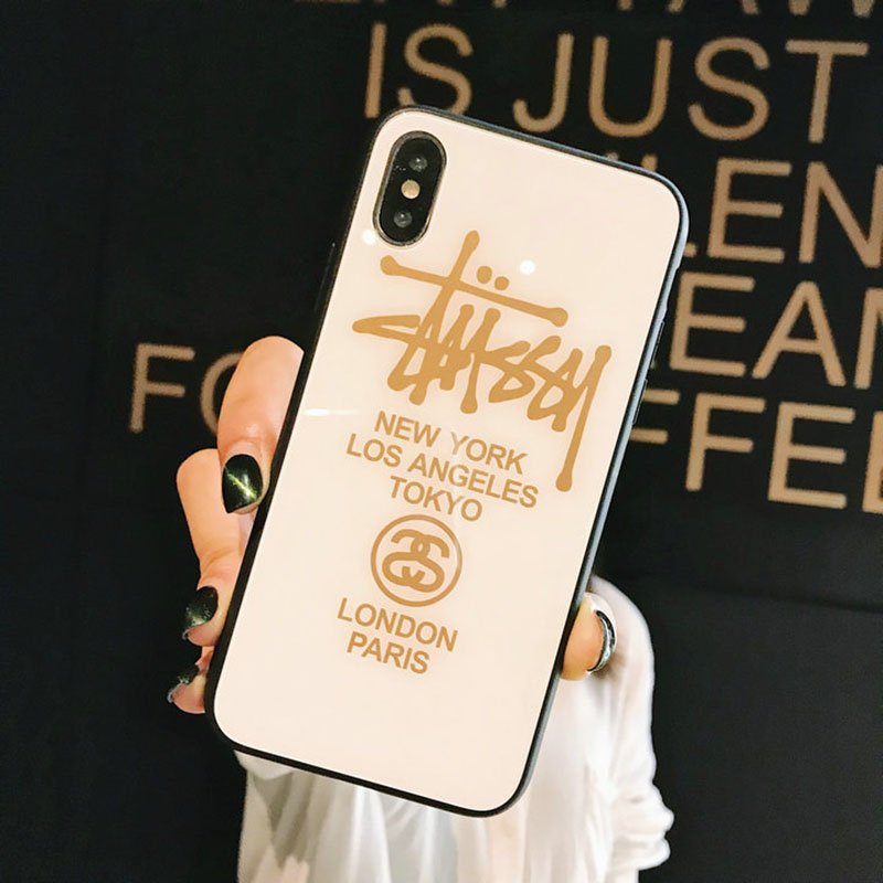 stussy iphone xs/xs maxケース