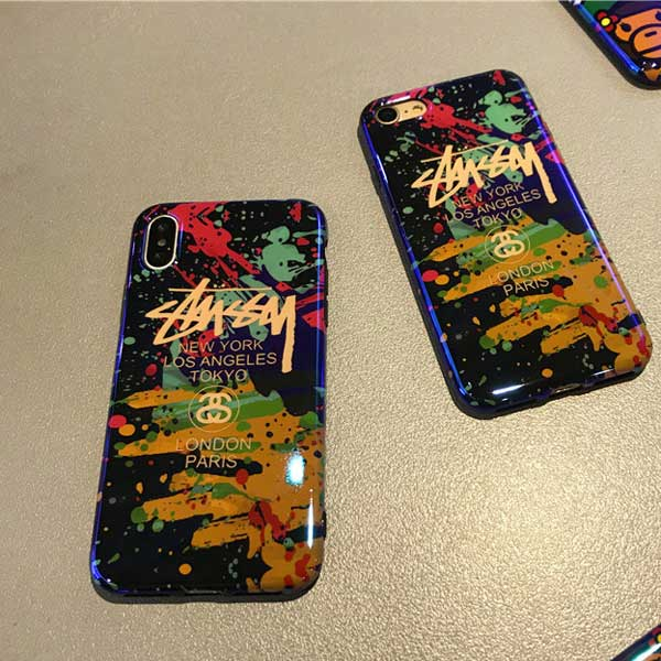 stussy iphone xs maxケース