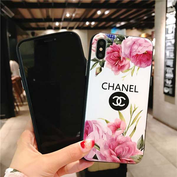 chanel風 iphone xrケース レディース