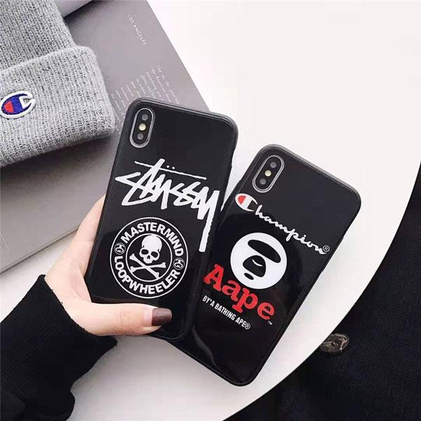 iphone xr Aape iphone xsxs max  iphone x   stussy iphone 87 plus