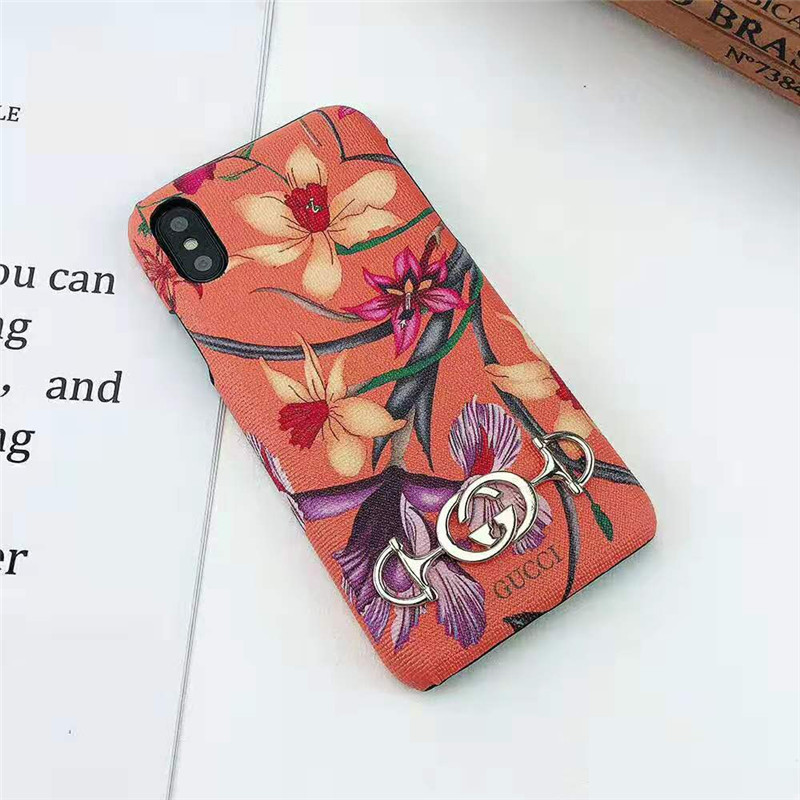 Gucci iphone xr/xsケース 花柄